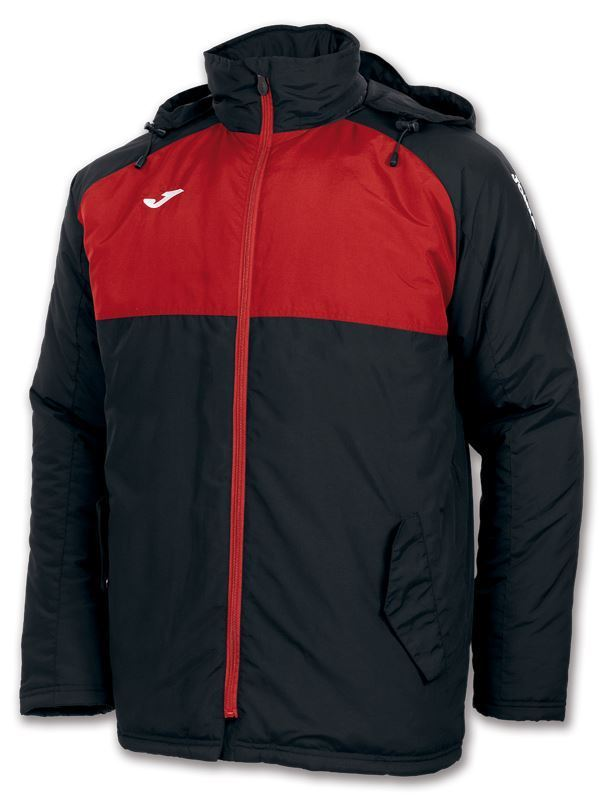 Joma Andes Bench Rainjacket Junior 100289 Black/Red - Clearance