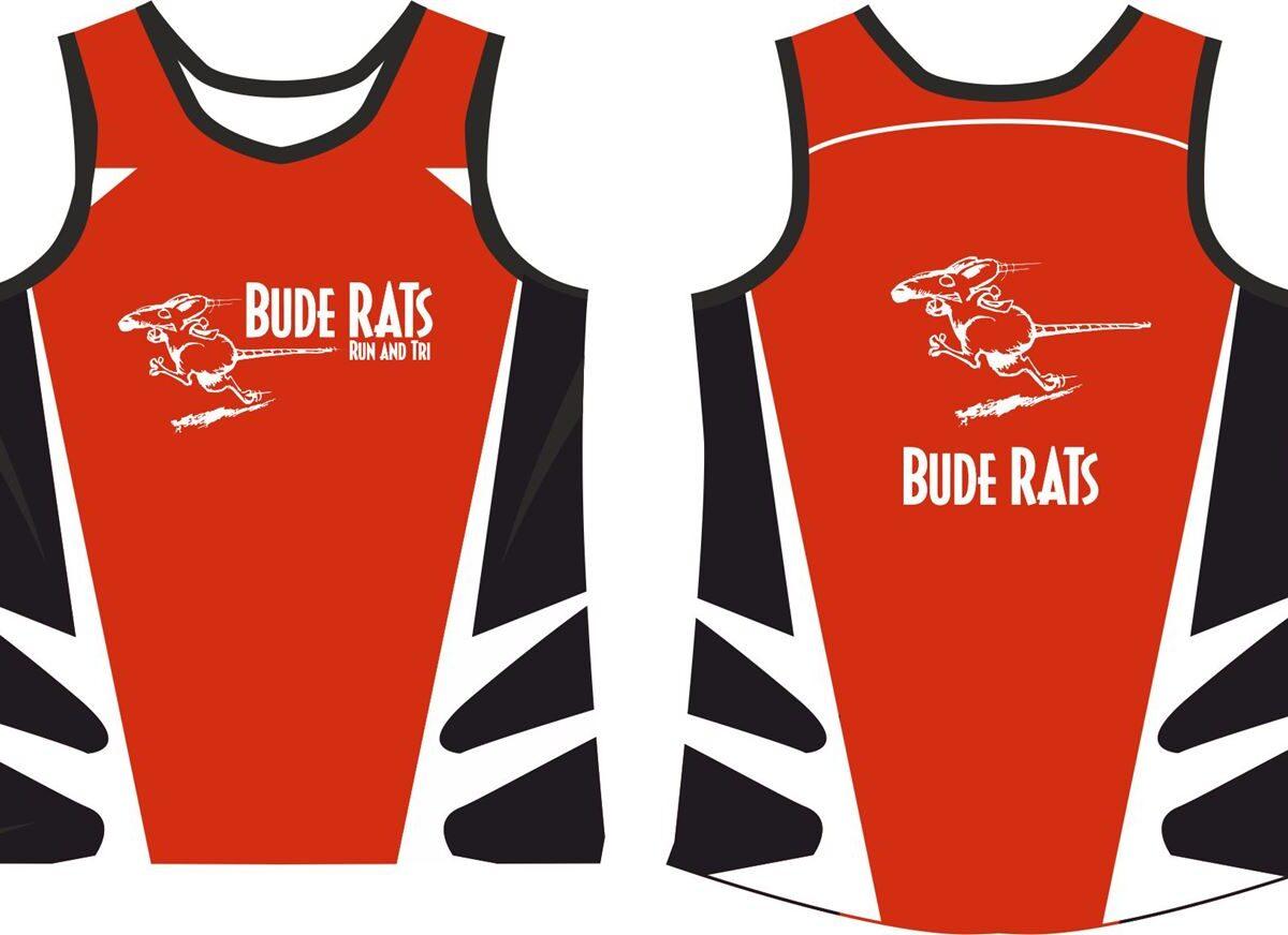 Bude Rats Girls Running Vest