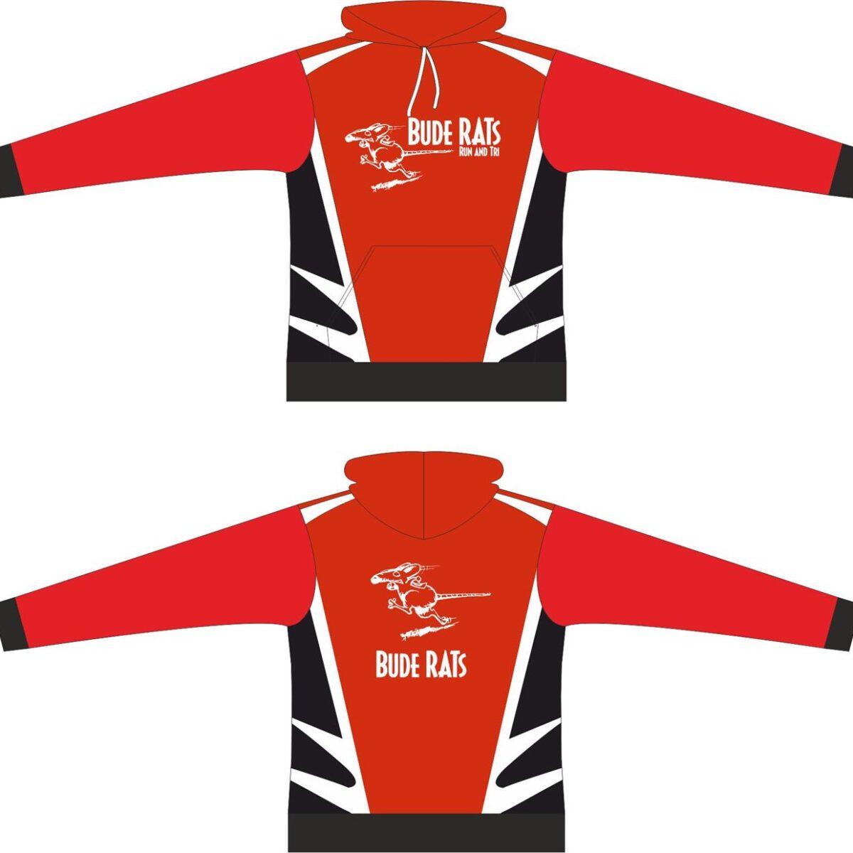 Bude Rats Race Hooded Sweatshirt