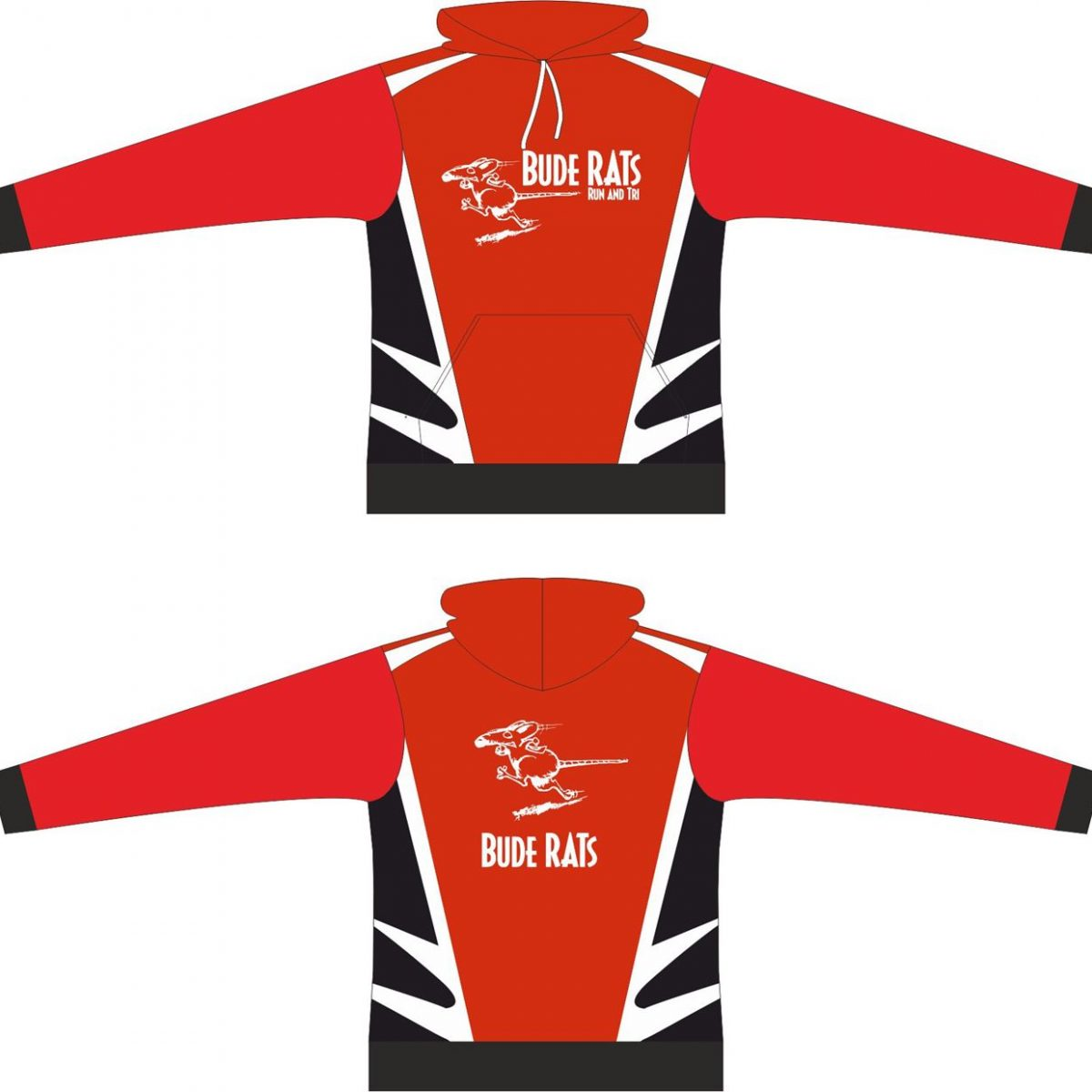 Bude Rats Junior Race Hooded Sweatshirt