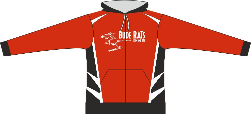 Bude Rats Unisex Full Zipped Hooded Sweatshirt