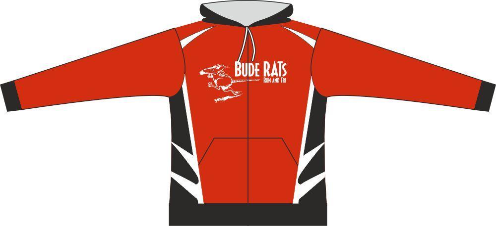 Bude Rats Unisex JUNIOR Full Zipped Hooded Sweatshirt