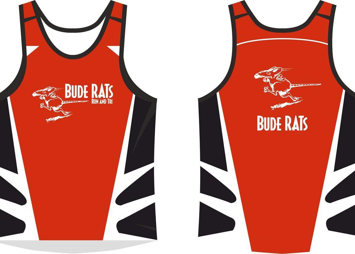 Bude Rats Mens Running Vest
