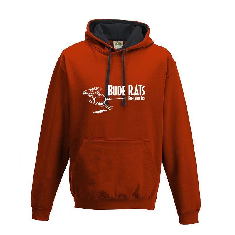 Bude Rats Unisex AWDIS Hooded Sweatshirt