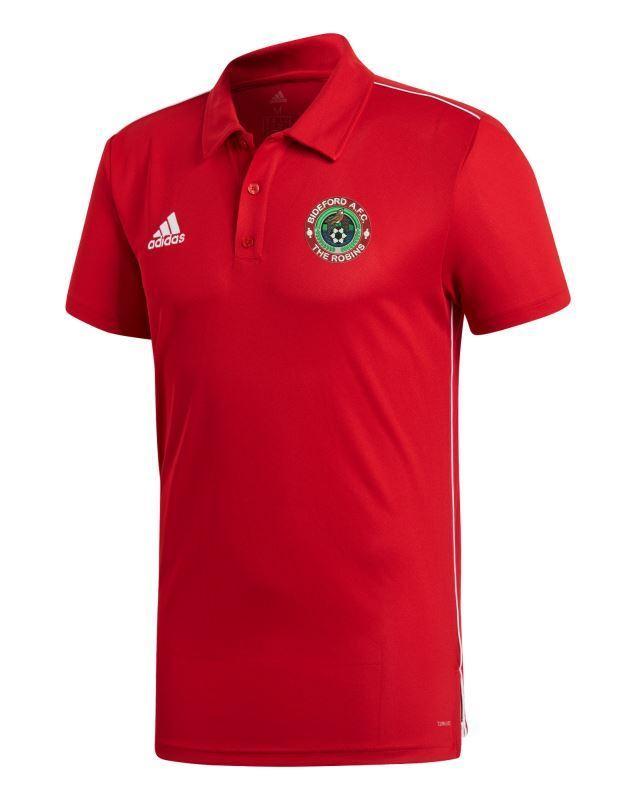 Bideford AFC Adidas Core Polo Shirt CE9037 - ADULT