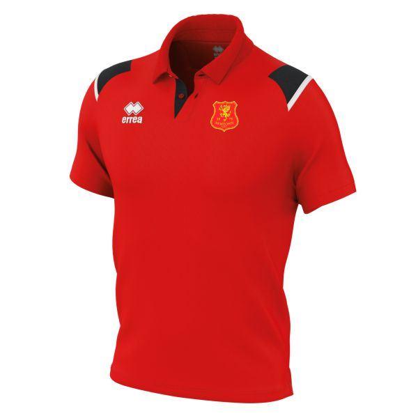 Newtown AFC Errea Luis Polo Shirt FM711C - Junior
