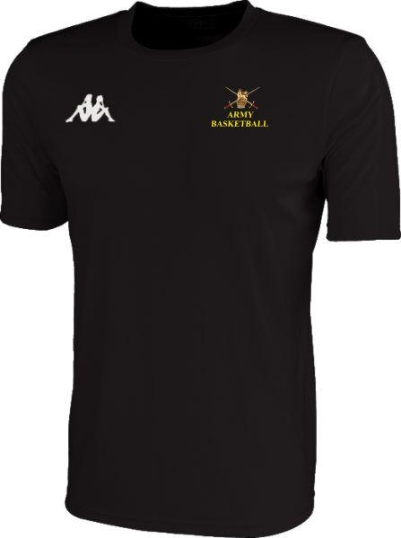 Army Warriors Kappa Meleto T Shirt Black 304TSWO 913