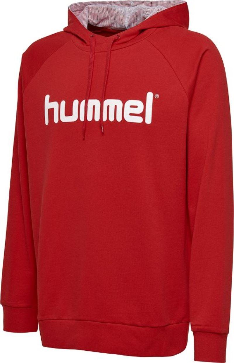 Hummel Go Cotton Logo Hoodie Junior 203512