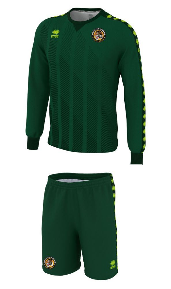 Axminster Town AFC ADULT Replica Goalkeeper Shirt and Short Set