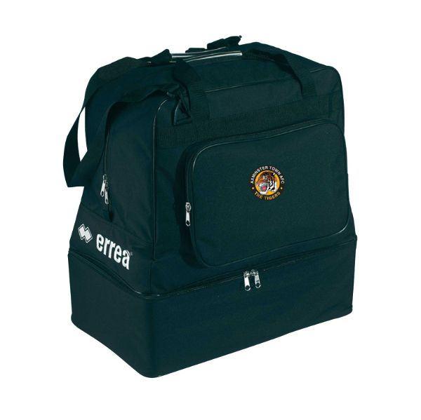 Axminster Town AFC Errea Basic Media Black Bag TO313M0012