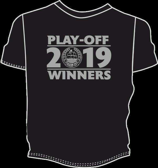 CLYDE FC Play-Off 2019 Winners T-Shirt