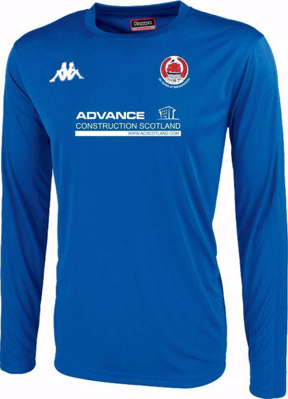 Clyde FC Replica Goalkeeper Shirt - Blue - ADULT