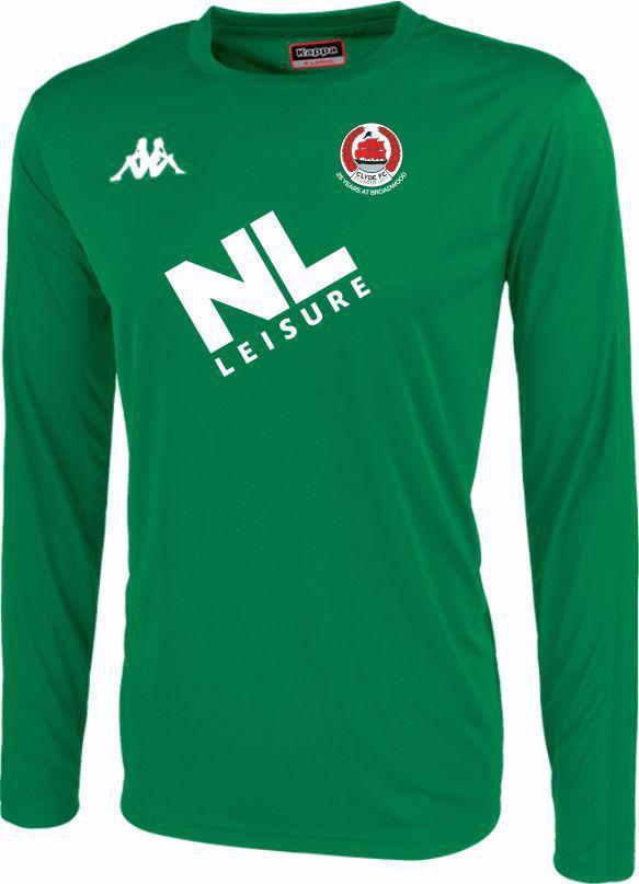 Clyde FC Replica Goalkeeper Shirt - Green - ADULT