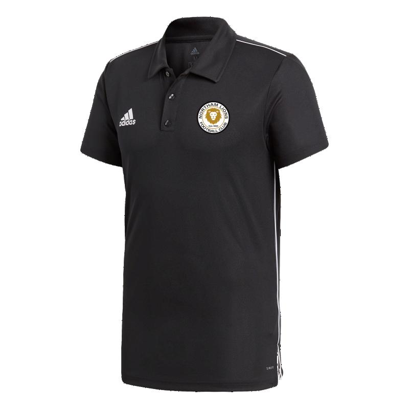 Northam Lions Adidas Polo Shirt Youth