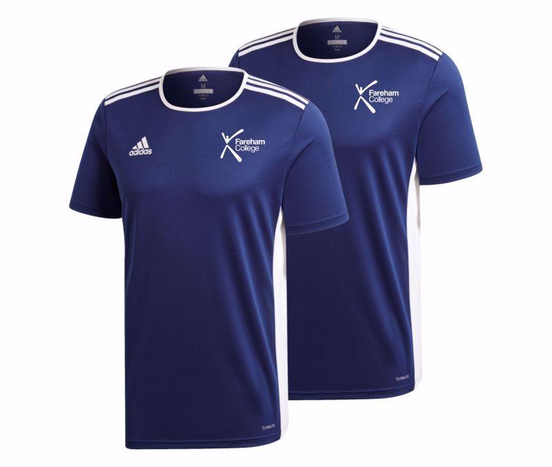 Fareham College Adidas Entrada 18 Training Shirt Pack (COMPULSORY)