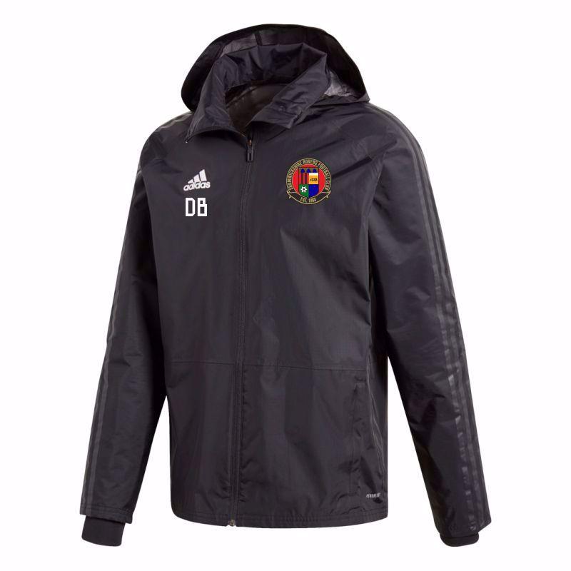 Shamwickshire Rovers Youth FC Adidas Condivo 18 Storm Jacket
