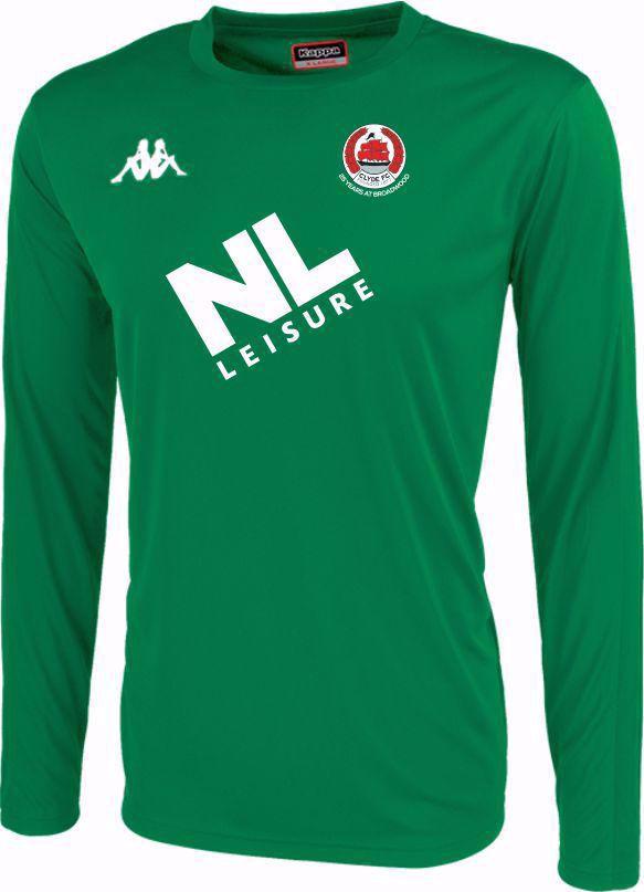 Clyde FC Replica Goalkeeper Shirt - Green - JUNIOR