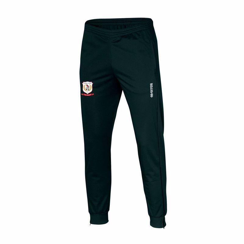 Chard Town FC Milo Trackpants - Black - JUNIOR