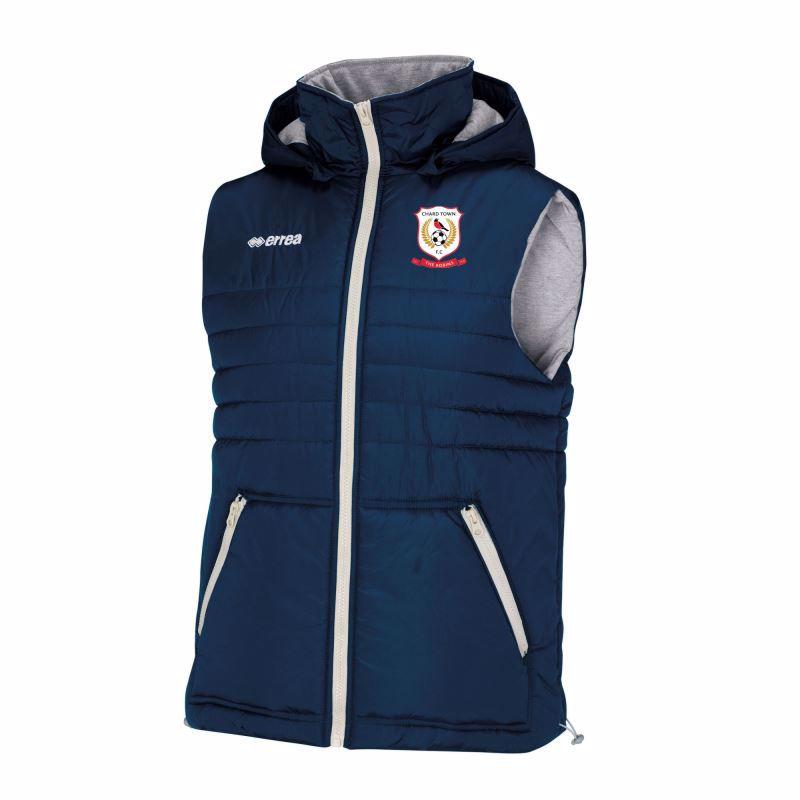 Chard Town FC Hybrid Jacket - Gilet - JUNIOR