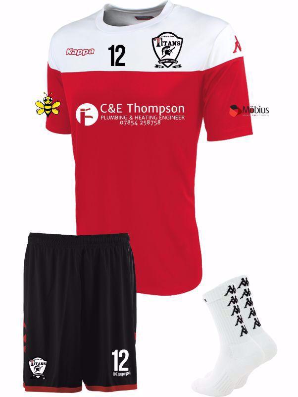 Carshalton Titans Junior Match Kit