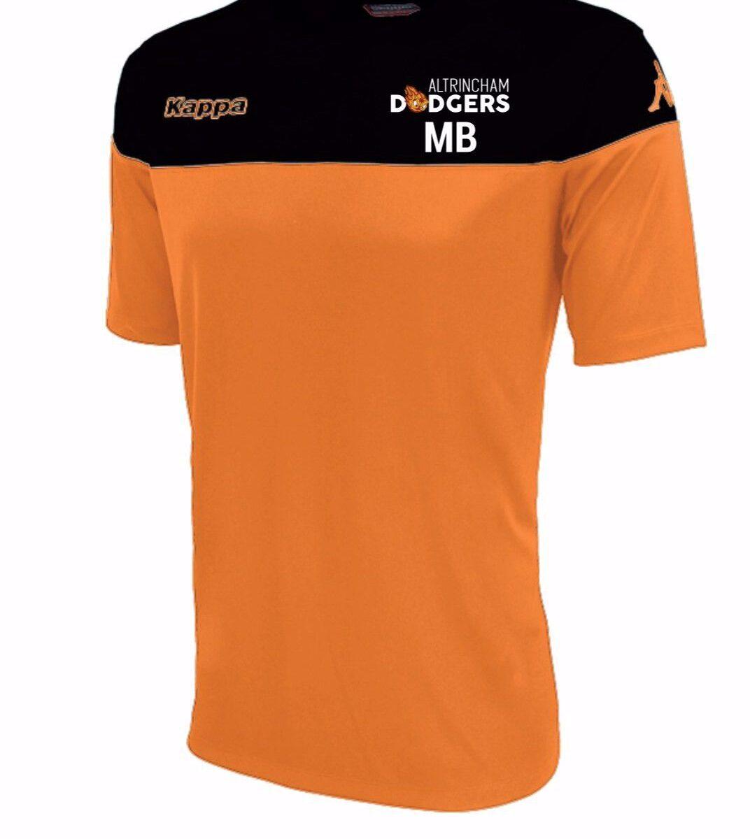 Altrincham Dodgers Training T Shirt Mareto 304INC0  914  - ADULT