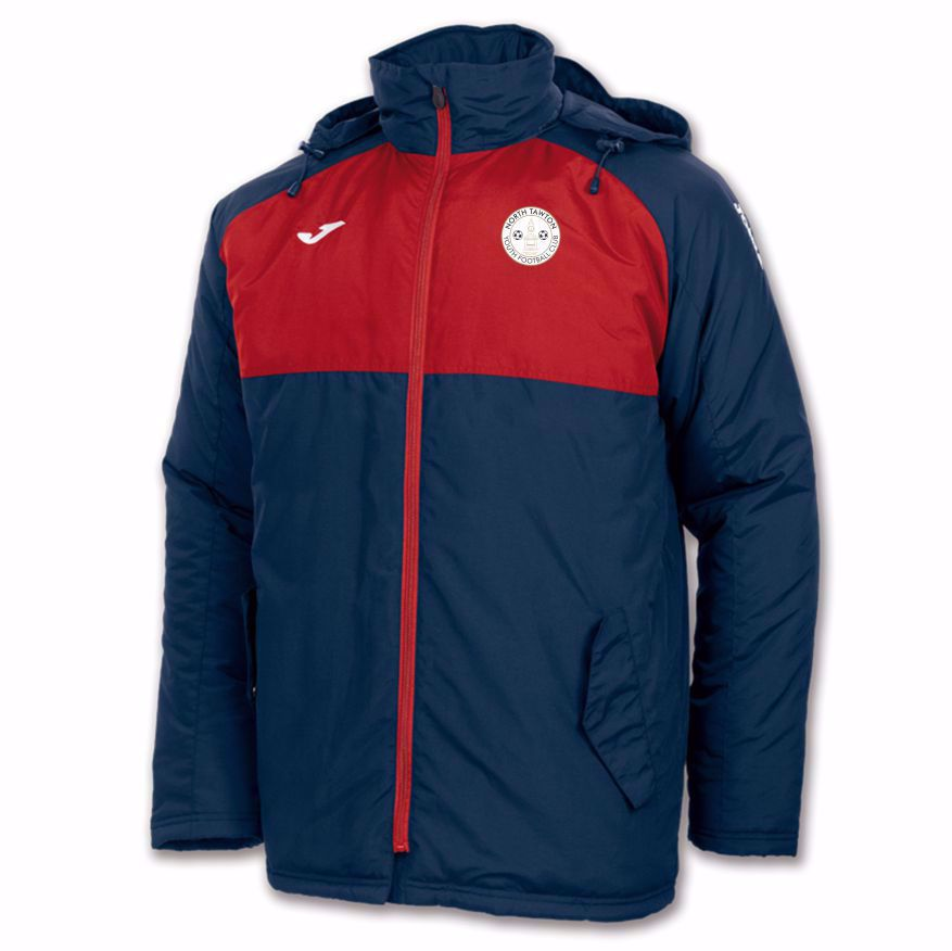 North Tawton Youth Football Club ANDES Bench Coat 100289.306 - ADULT