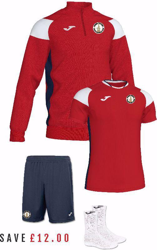 North Tawton Youth Football Club Trainingwear Pack - Adult