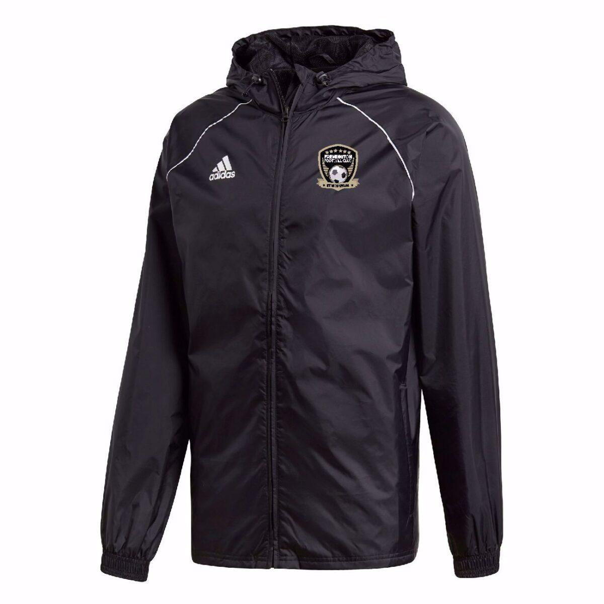 Fremington FC Adidas Core 18 Rain Jacket - ADULT