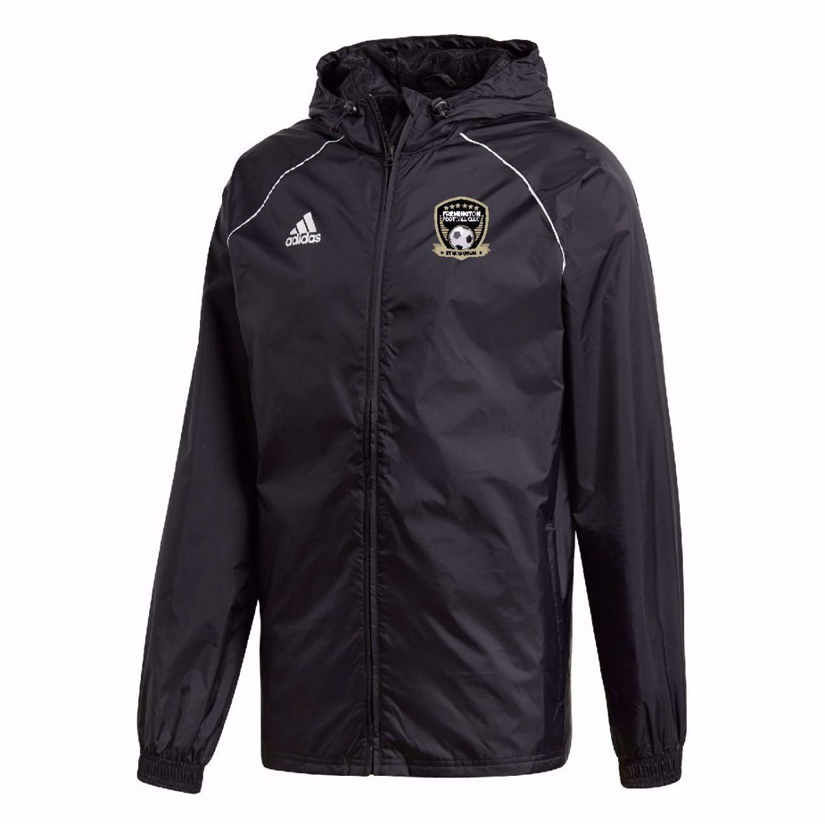 Fremington FC Adidas Core 18 Rain Jacket - JUNIOR