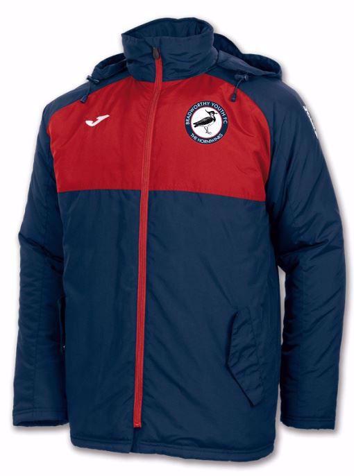 Andes Benchwear Jacket- Bradworthy FC - ADULT