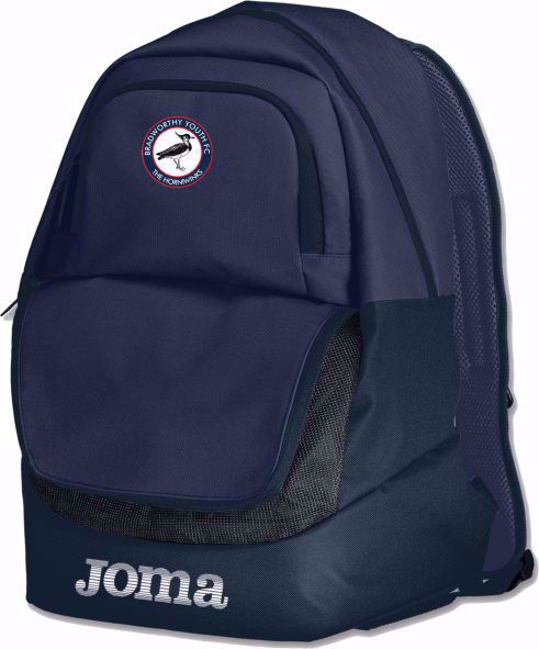 Joma BACKPACK  - Bradworthy  FC - NAVY
