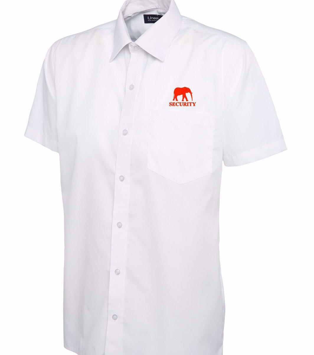 Red Elephant Security Poplin Shirt - UC710