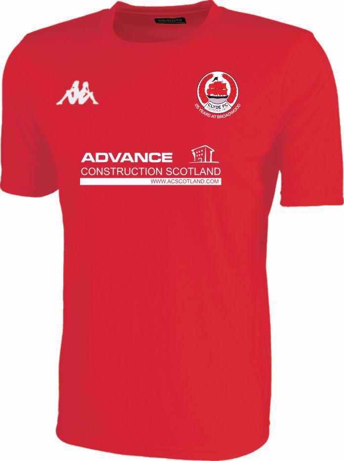 Clyde FC Replica 3rd Shirt - ADULT SHOP