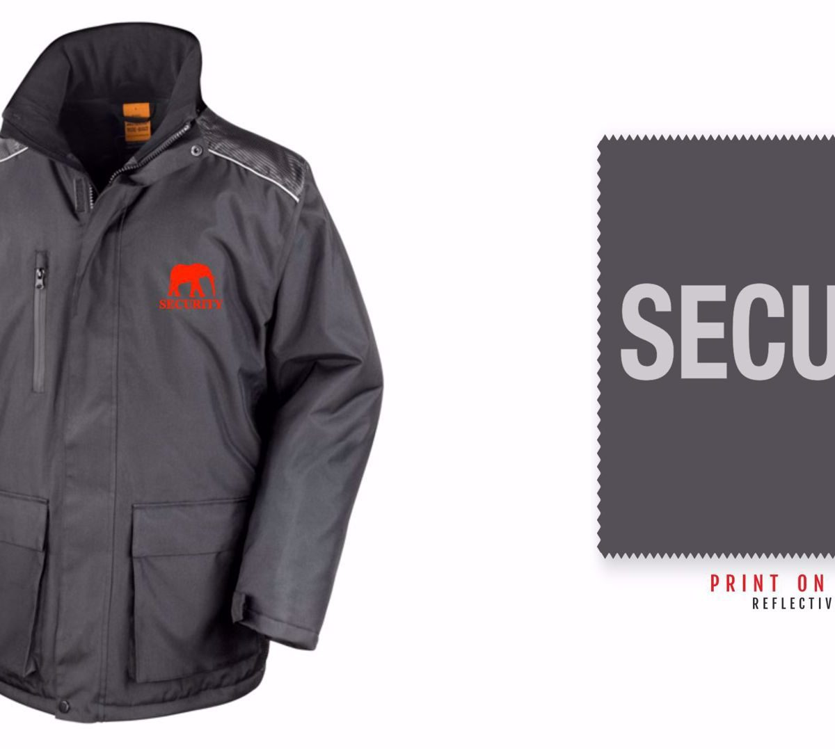 Red Elephant Security Long Coat R305X