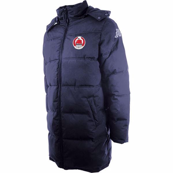 Clyde FC Seddolo Long Padded Jacket  - Junior - 303MB80