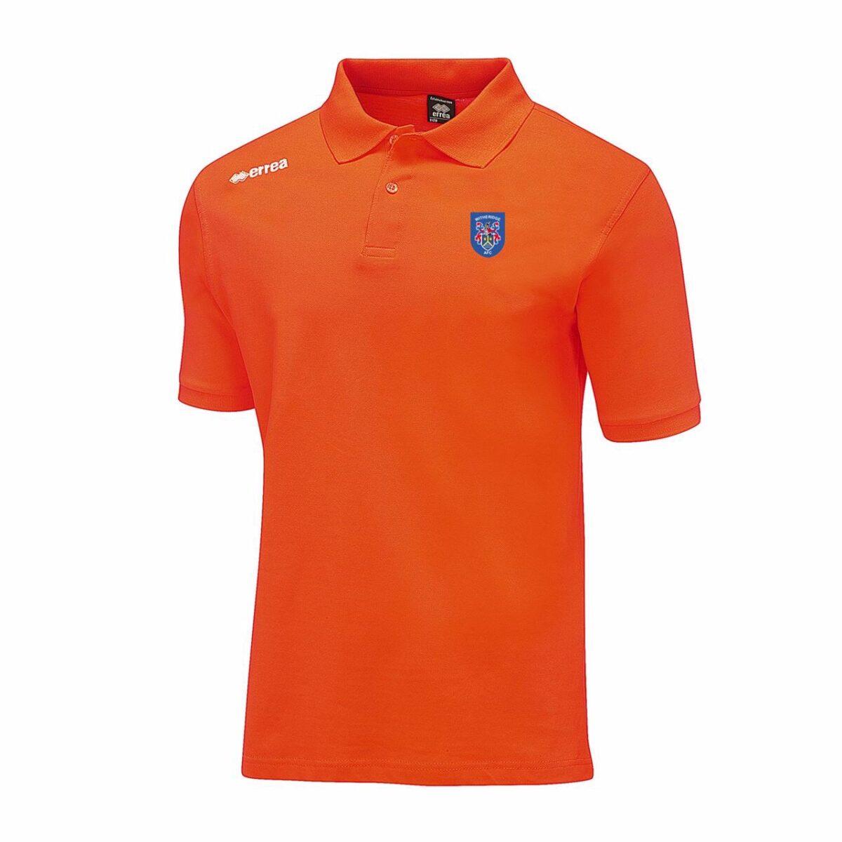 Witheridge Football Club Polo Shirt - Orange - Junior