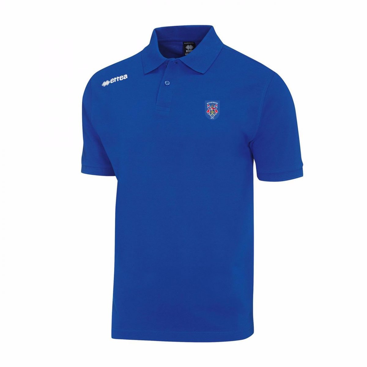 Witheridge Football Club Polo Shirt - Royal - Junior
