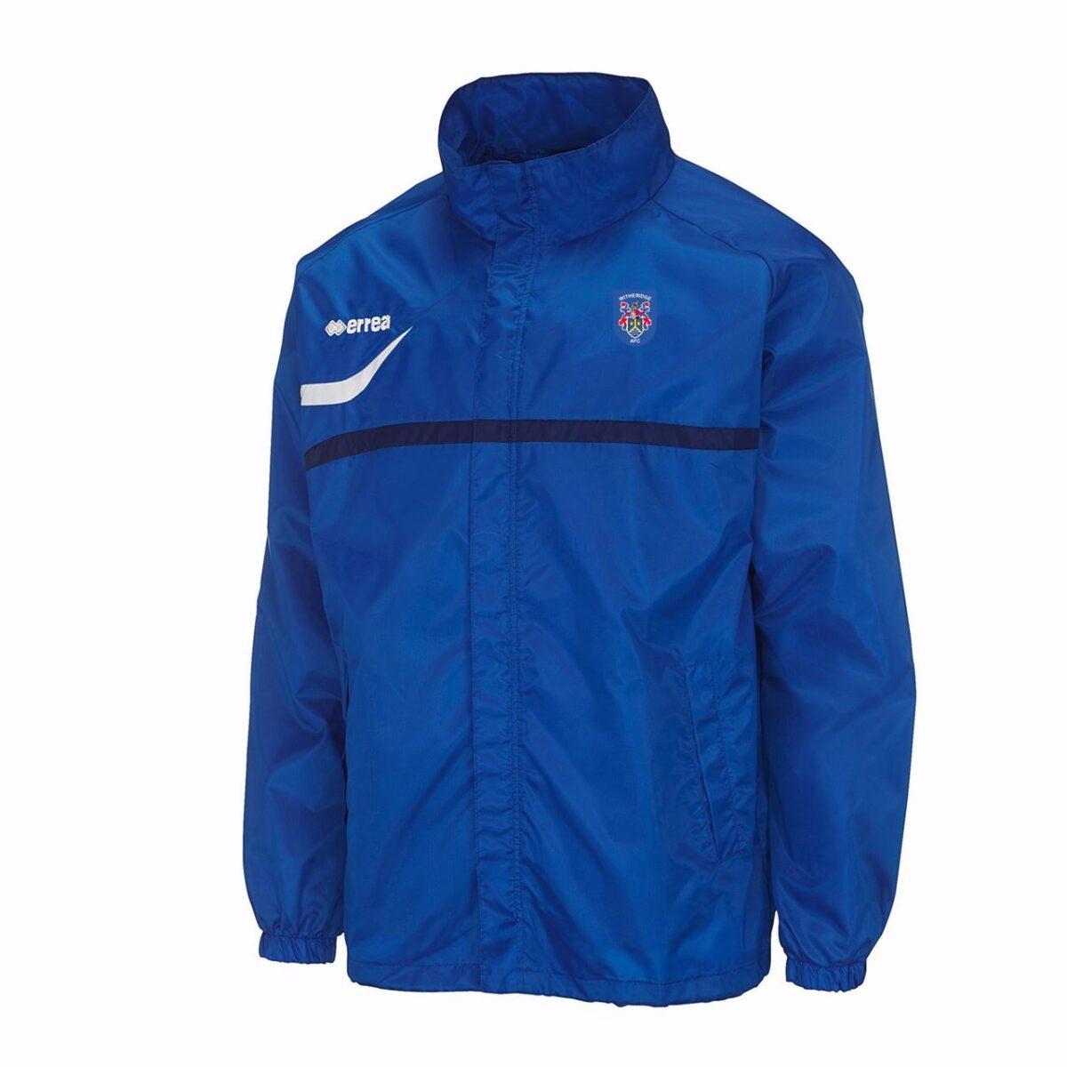 Witheridge Football Club Rain Jacket - Royal - Junior