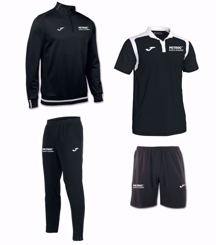 Petroc Sports Academy Student Package Set - junior sizing