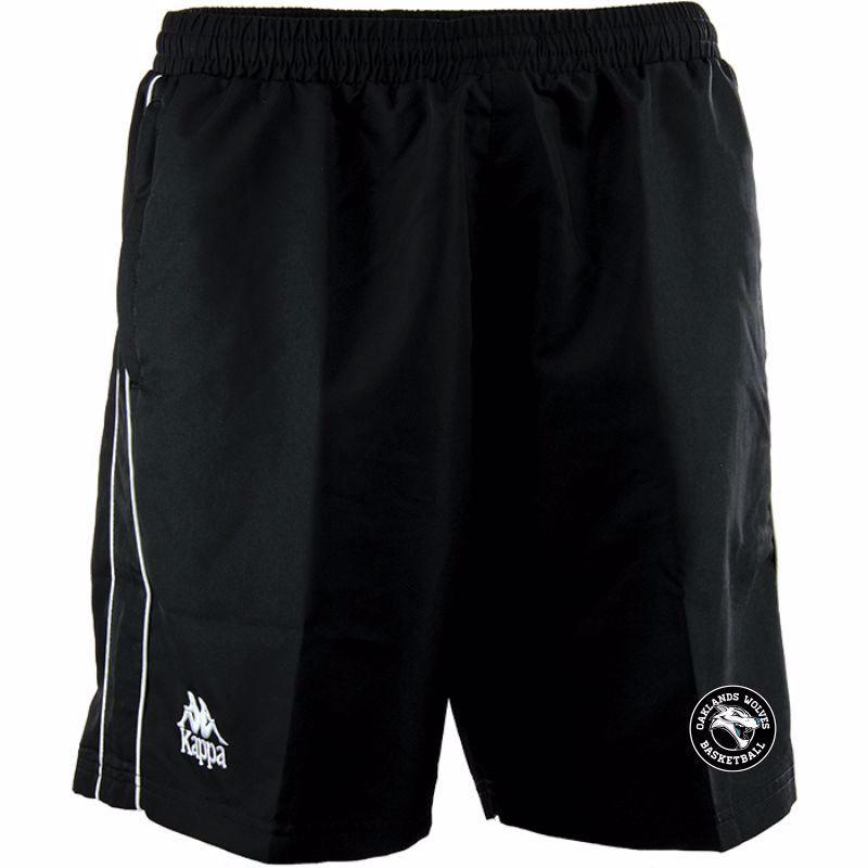 Oaklands Wolves Kappa PASSO Poly Shorts - junior