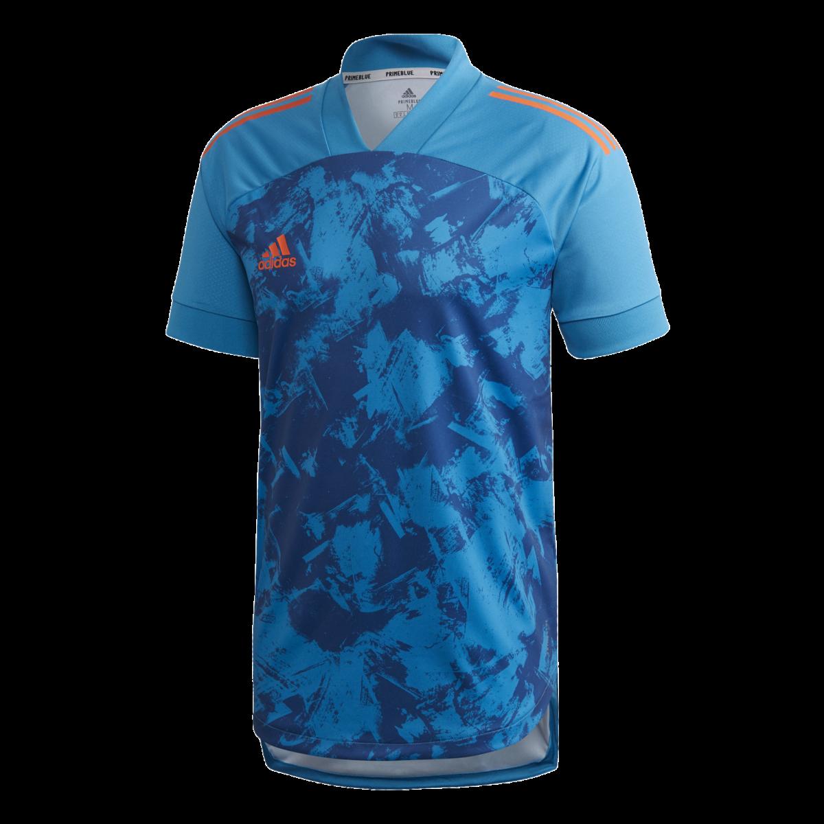 Adidas Condivo 20 Primeblue Football Shirt - JUNIOR NEW for 2020 FP9398