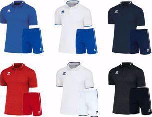 Errea PRAGA Kit Deal Adults -  Praga Shirt & New Skin Shorts