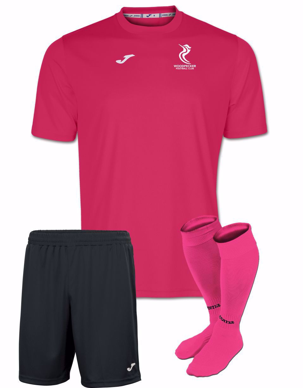 Woodpecker FC Wildcats Kit - Shirt/Shorts/Socks - Adult Sizes