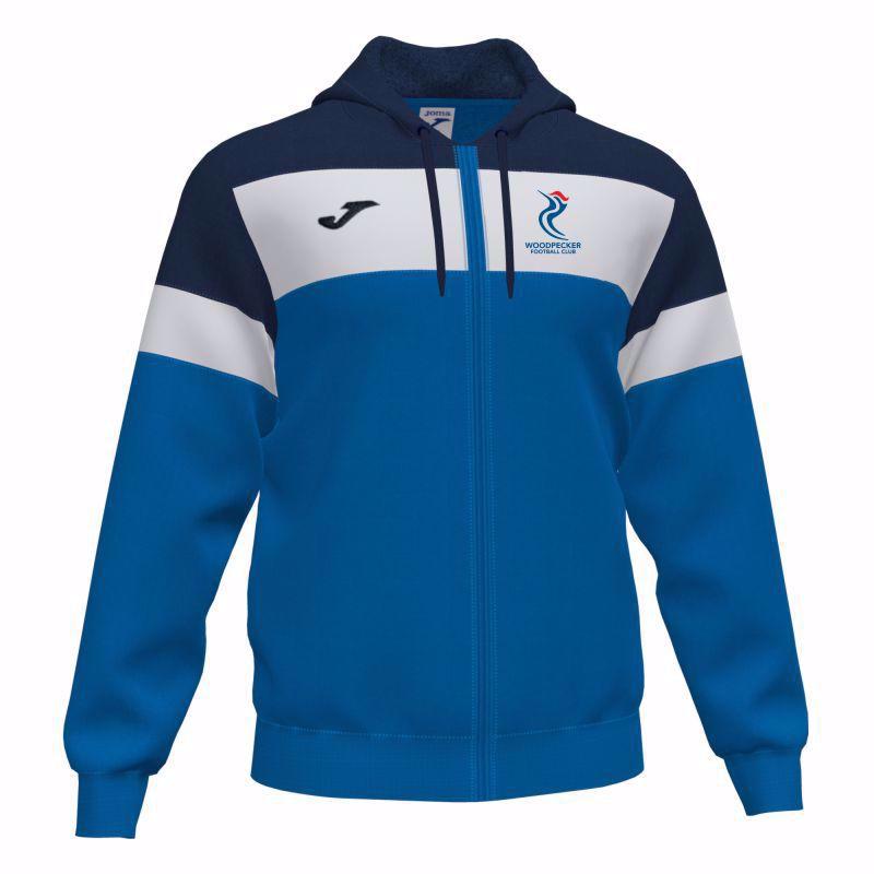 Joma  Crew IV ADULT Hooded Sweatshirt 101537.703 - Woodpecker FC