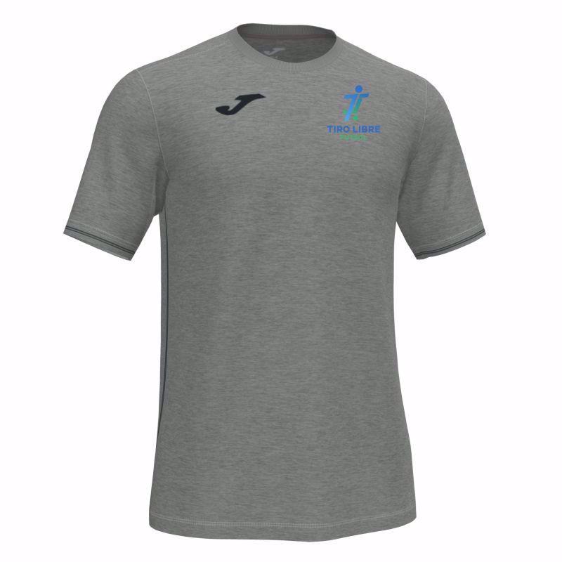 Joma Campus III Junior s/s shirt in light melange 101587.250 - TIRO LIBRE FUTSAL