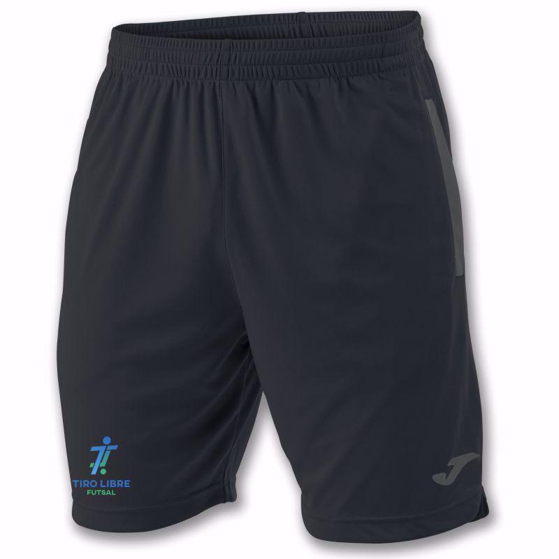 Joma Classic Bermuda - Junior shorts in black/anthracite  100785 - TIRO LIBRE FUTSAL