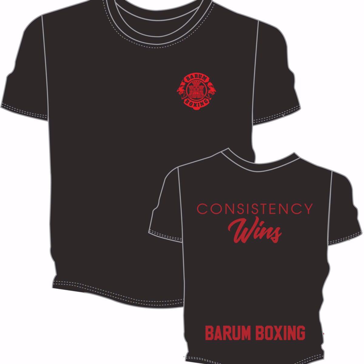Consistency Wins Junior T Shirt