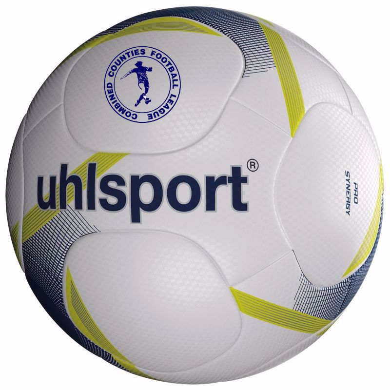 RED CHERRY COMBINED COUNTIES FOOTBALL LEAGUE UHLSPORT MATCH BALLS x 20