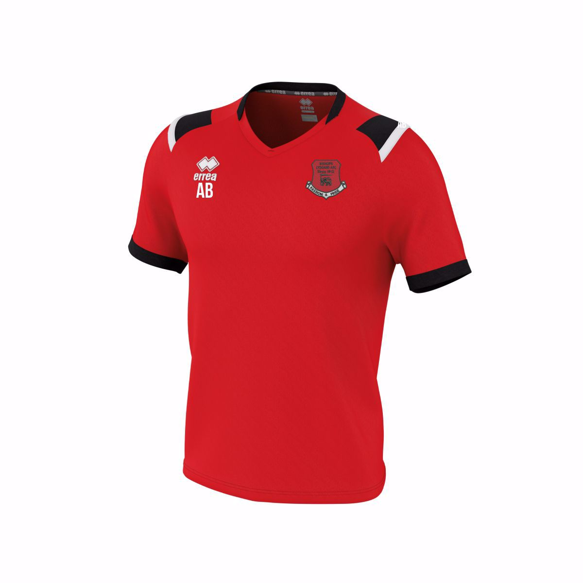 BISHOPS LYDEARDS FC Lucas Red T Shirt - Adult