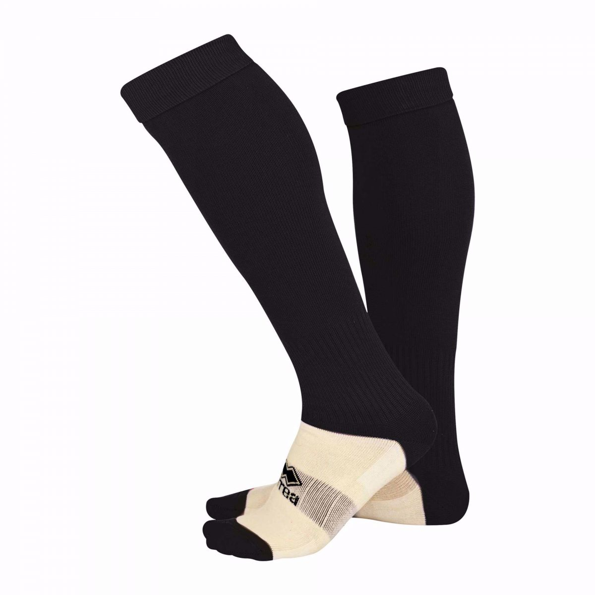 BISHOPS LYDEARDS Black Poly Socks ADULT